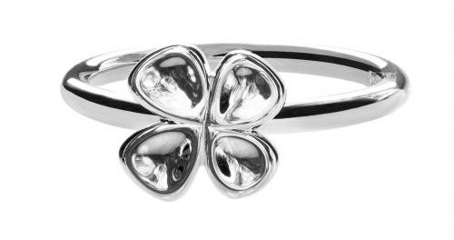 Onnekas-sormus, hopeaa, Lumoava
