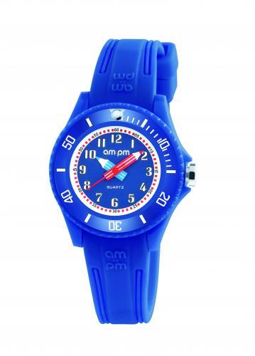 AM:PM sininen rannekello kynäviisareilla PM192-K509