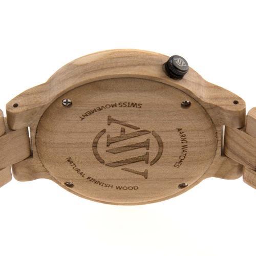 Aarni puinen rannekello XO - Jalava
