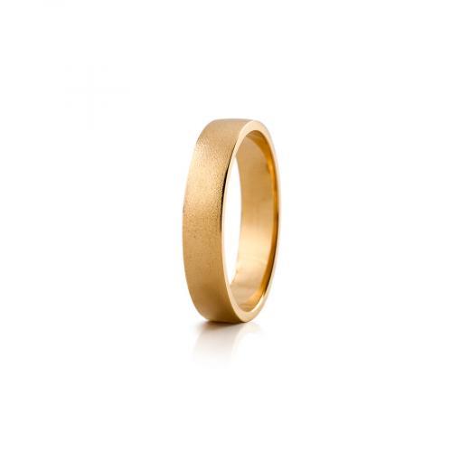 Lumoava Silo kultasormus 5mm