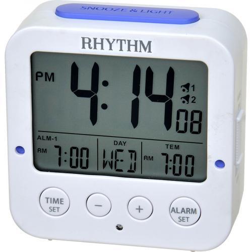 Rhythm digitaalinen herätyskello