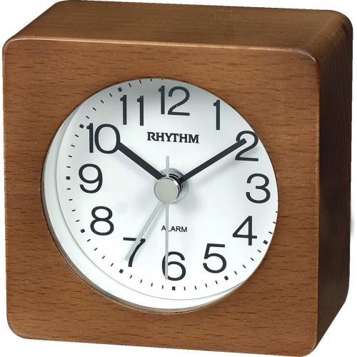 Rhythm herätyskello tumma puu CRE967-NR06