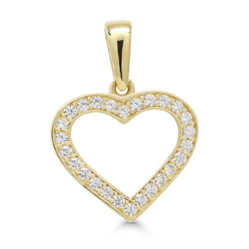 Kultariipus sydän kivillä