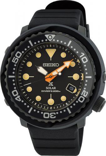 Seiko Prospex solar black series