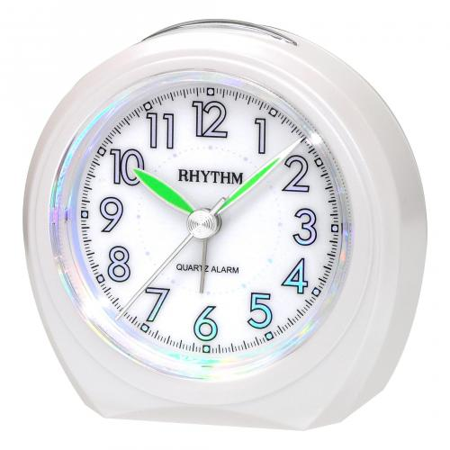 Rhythm herätyskello helmenvalkoinen CRE815-NR03