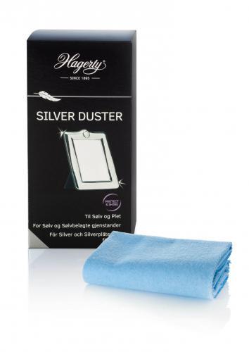 Hagerty Silver duster hopeanpuhdistusliina