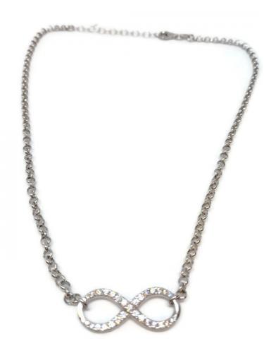 Ikuisuus -kaulakoru, hopeaa YHN933/4015 45