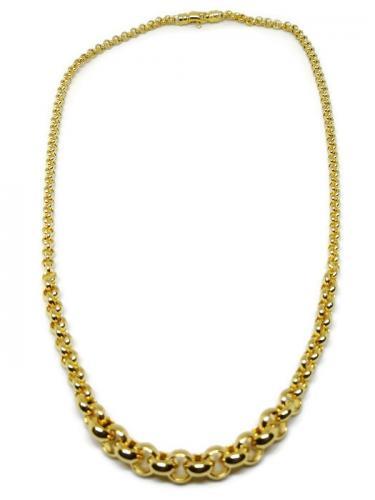 Levenevä kultainen papuketju 50cm