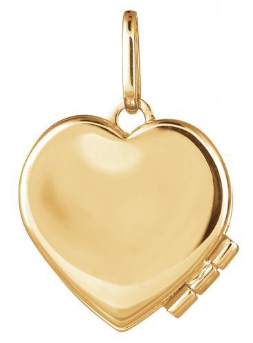 Sydän medalionki kultariipus, XLOC0049-IV