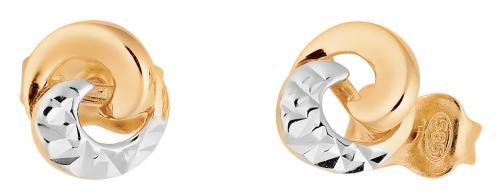 Kultaiset korvakorut, X3E211682-YW-DG/GW