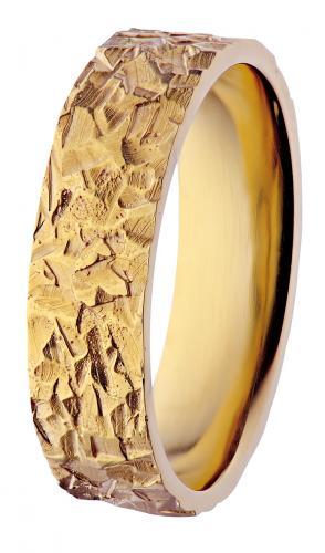 Vuori-kultasormus keltakultaa 39KK