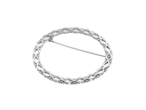 Solina -rintaneula, hopea, 5780 00 Lumoava