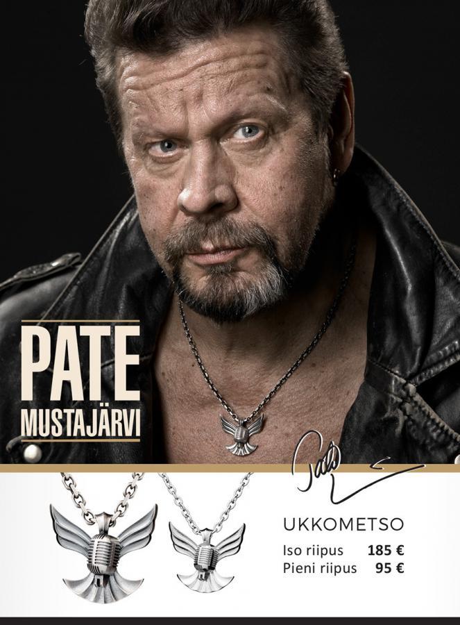 Ukkometso -koru, 5678 00, Pate Mustajärven nimikkokoru.