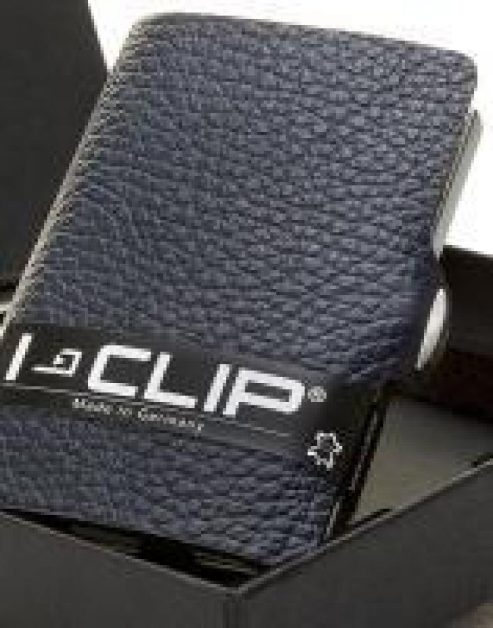 I-CLIP korttikotelo sininen